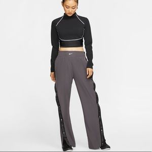 Nike Pro Tear Away Womens Thunder Gray Pants